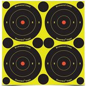Birchwood Casey 34375 Shoot-NC 3in Bulls Eye Target