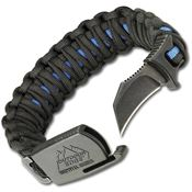 Outdoor Edge PCU90C Paraclaw Thin Blue Line Large